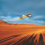 Kleinflugzeug Wüste - Namibia Flugsafaris