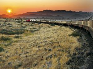 Eine Bahn in Afrika - Namibia Bahnreisen